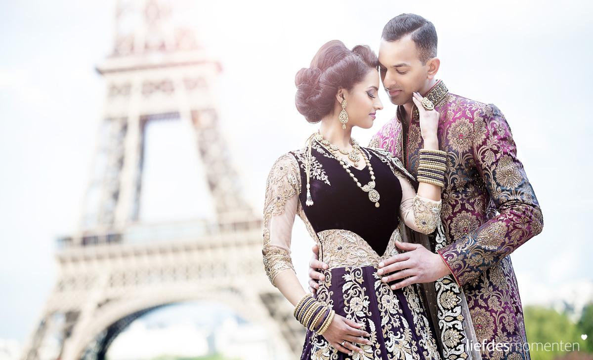 ANOUSHKA & VIKASH | pre wedding shoot, Parijs