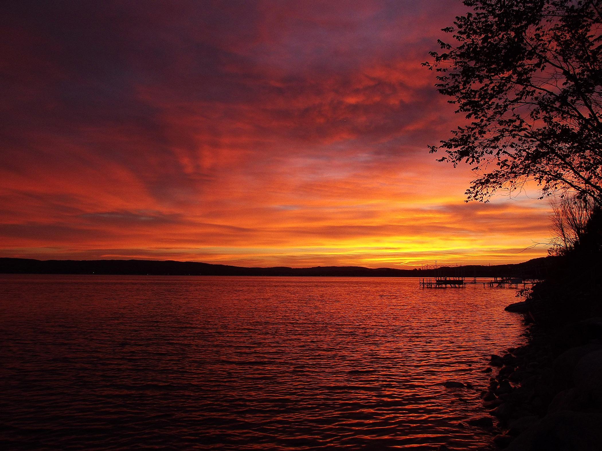 Lake Charlevoix Sunrise - Laura Copeland