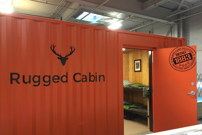 rugged cabin orange paint