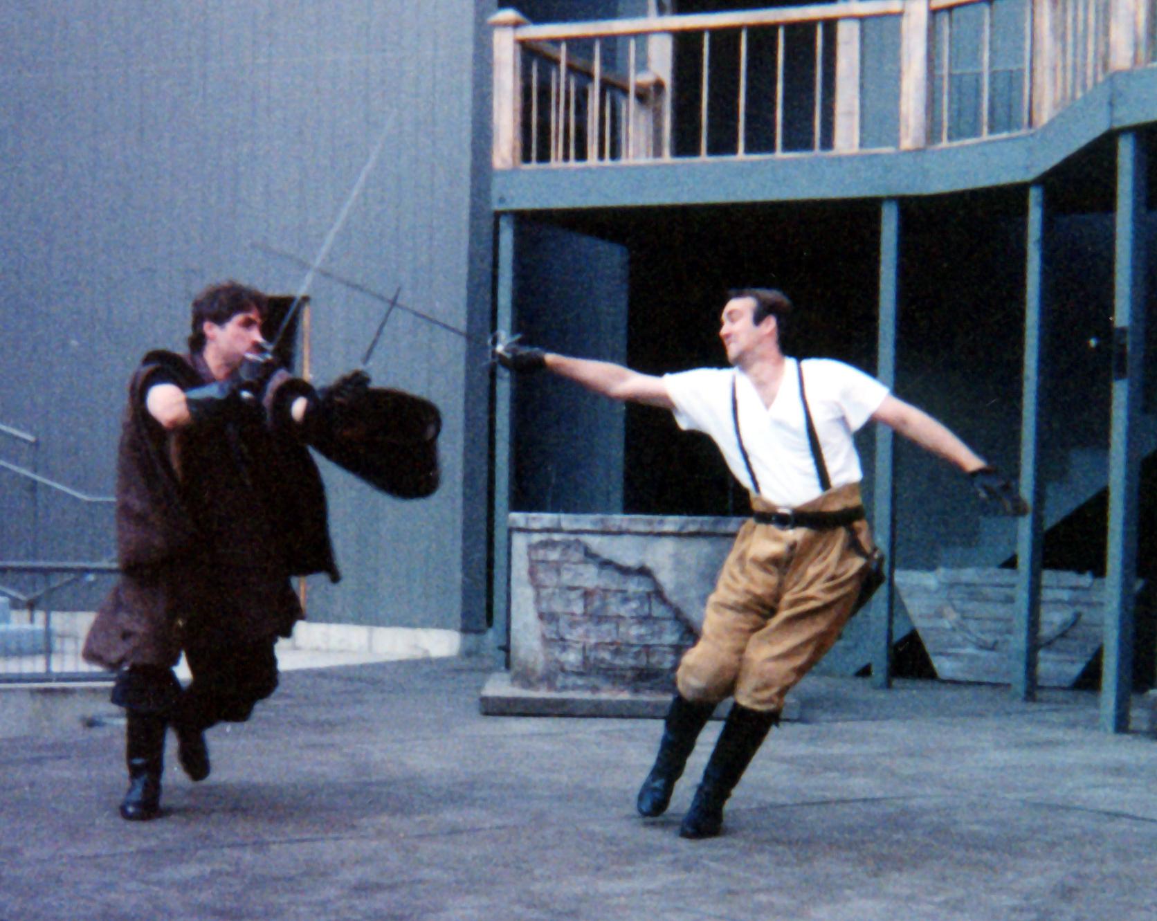 Othello  fight call - Illinois Shakespeare Festival