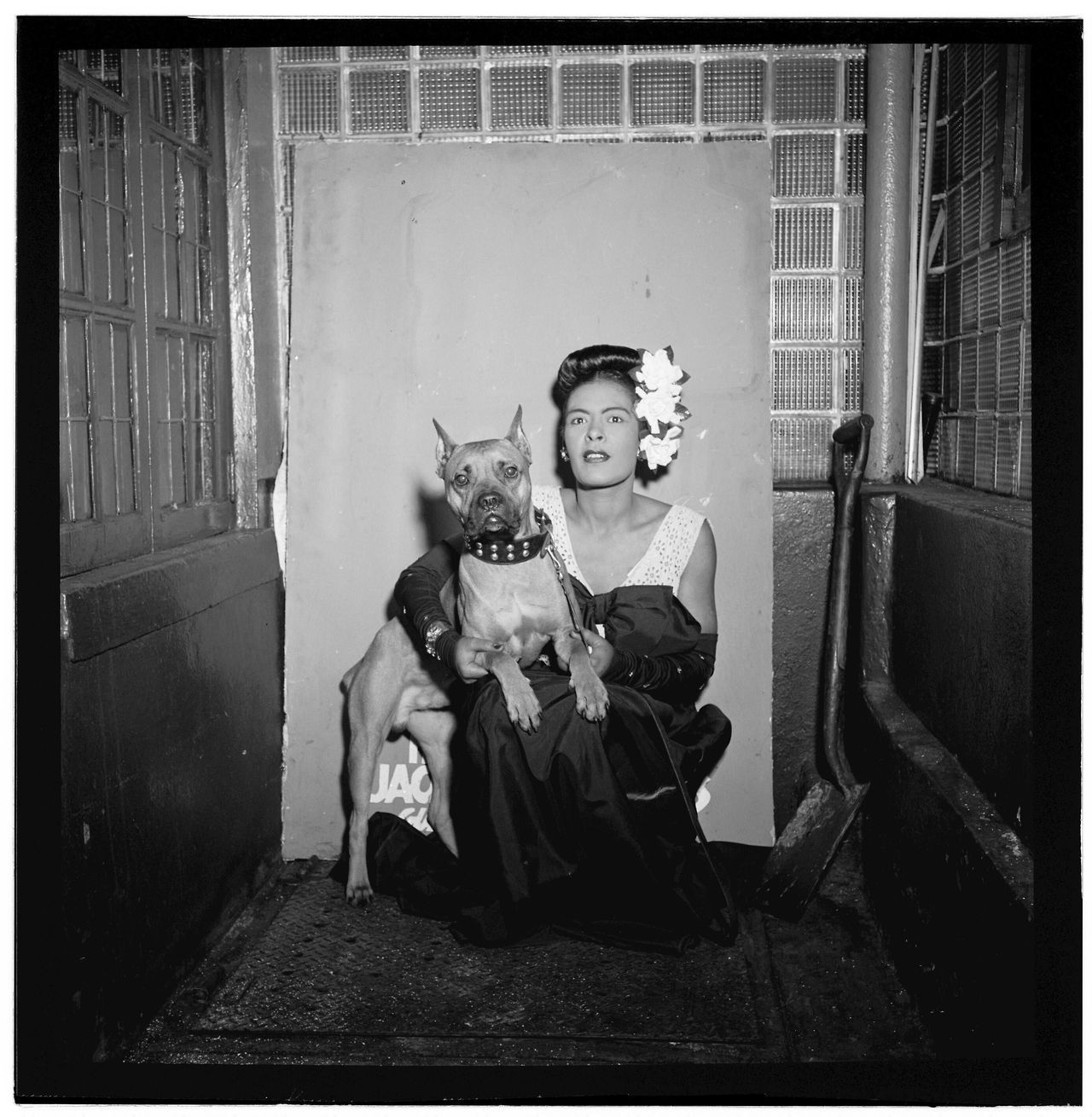 billie holiday WITH CAT