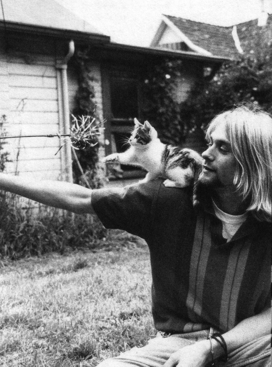 kurt WITH CAT