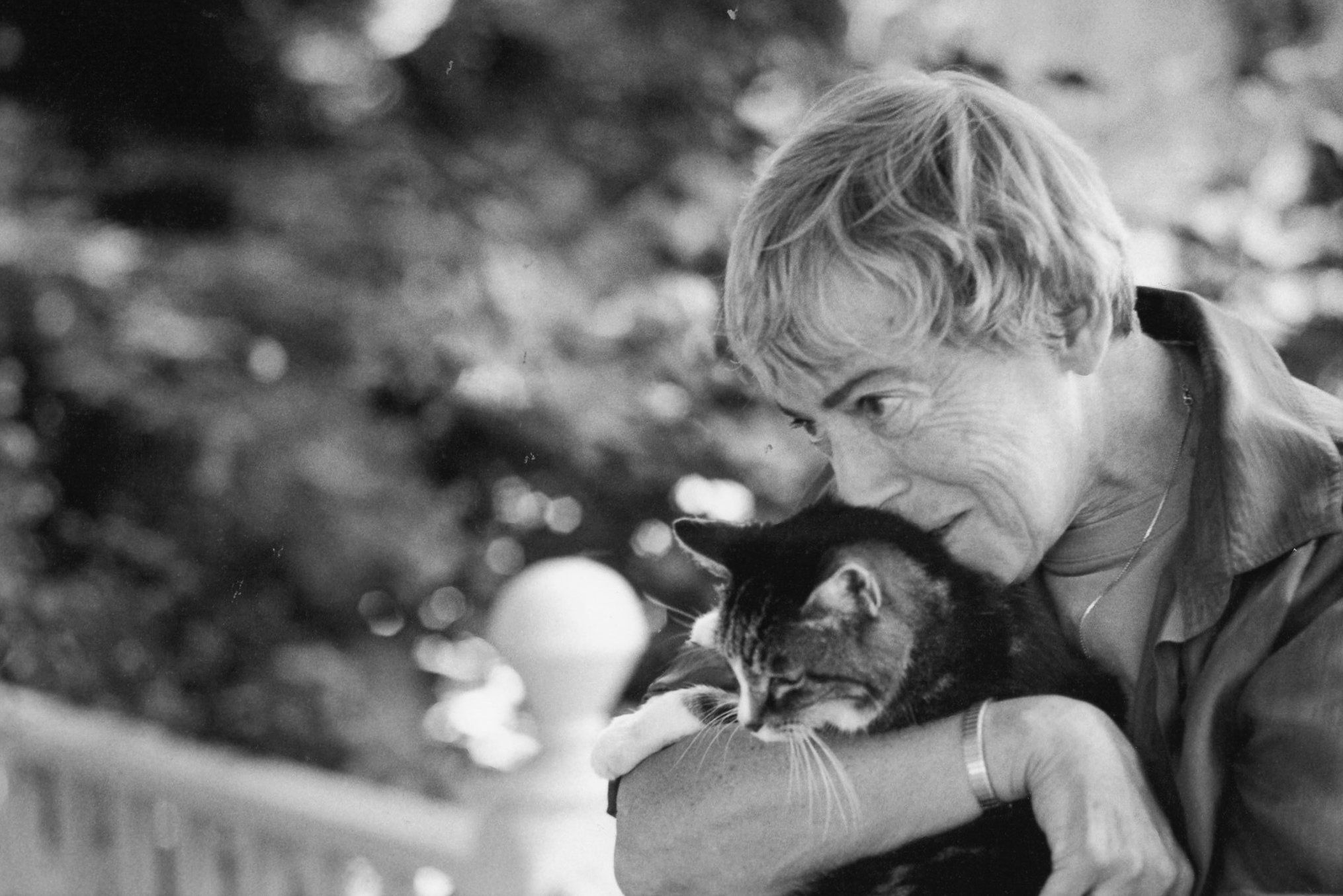 ursula k le guin WITH CAT