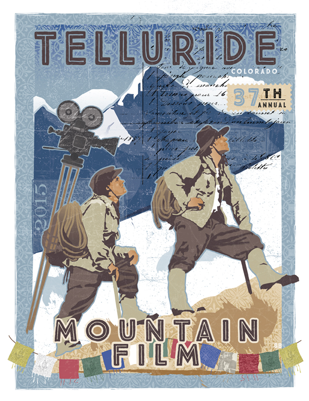 Mountain Film Poster at Wizard Entertainment in Telluride!