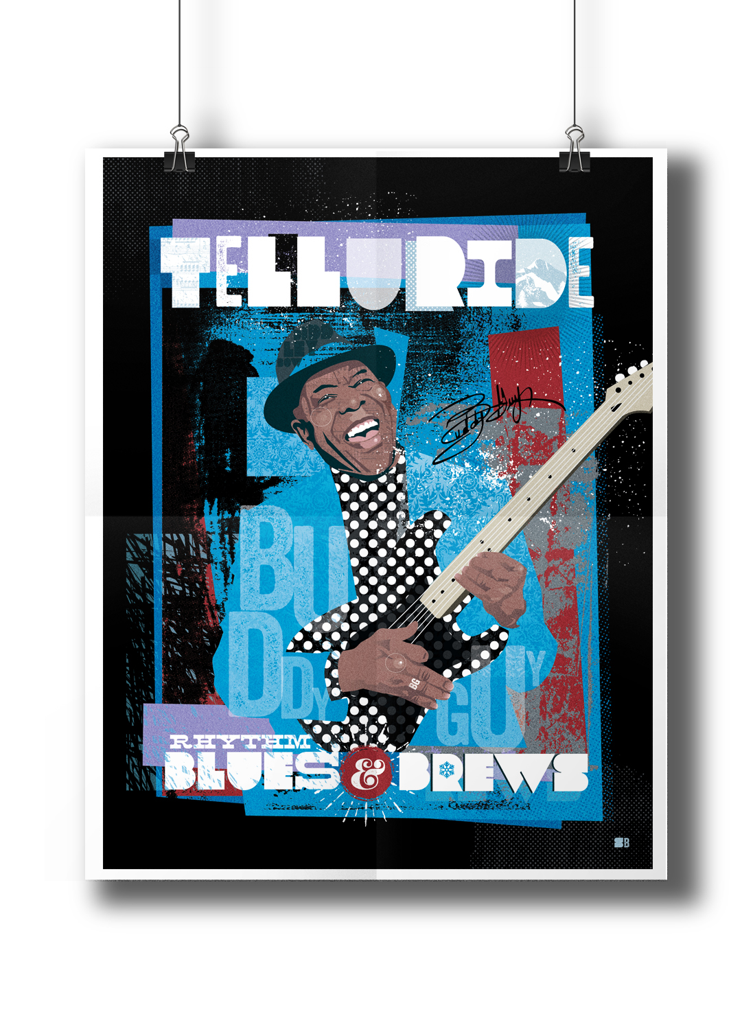 Don't forget Buddy Guy! Get these only at Wizard Entertainment in Telluride!