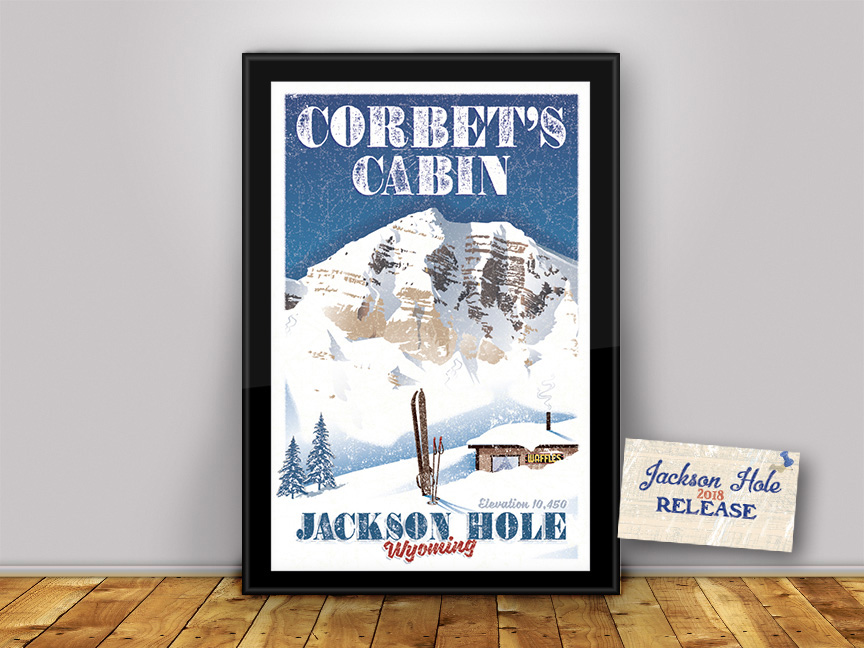 Limited Edition Modern/Vintage Poster!  FREE SHIPPING! Got to pay for the Waffles!
