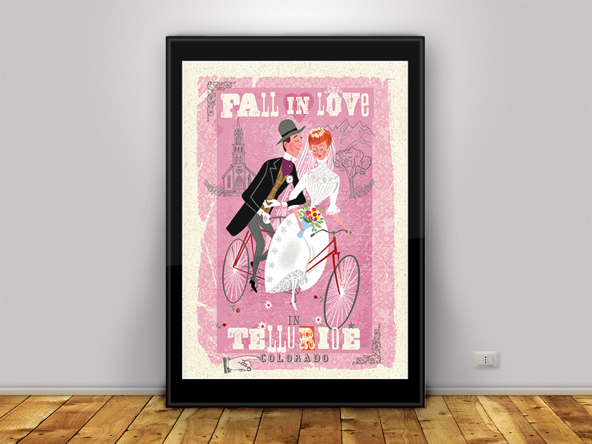 Limited Edition print to remember your big day!