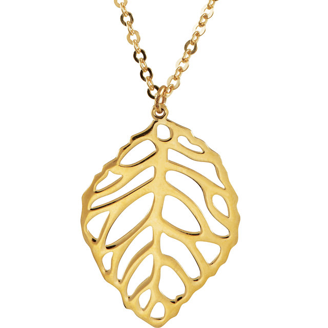 Copy of Leaf Necklace
