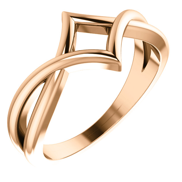 Copy of Rose Geometric Ring