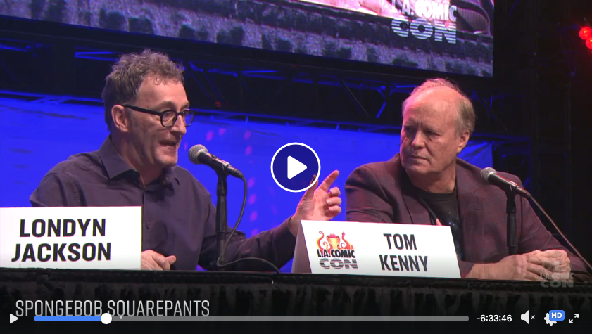 Watch the  full panel here , skip to 50:00.