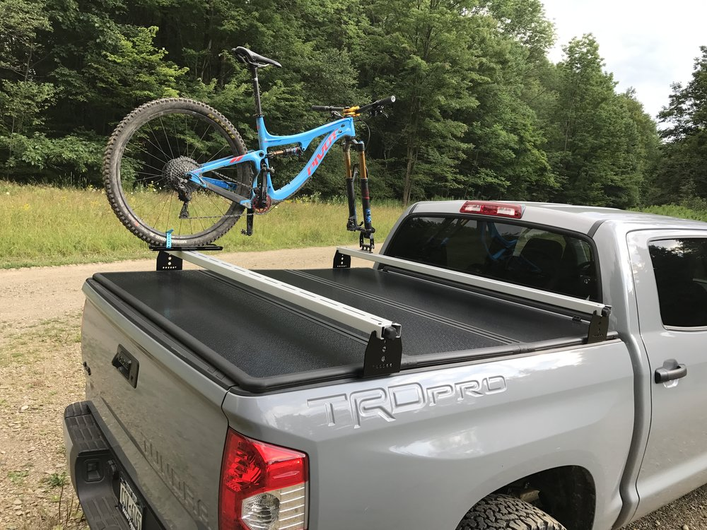 Toyota Tundra Hi Rise Crossbars For Use With Tonneau Covers Kb Voodoo Fabrications