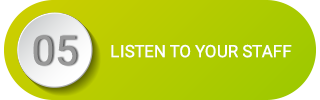 Last but not least, take time to listen to your staff. Whether you employ one or 20 or 50 people, they are your greatest asset and should be treated as such. The link between employee attitudes and business performance is well established – ignore it at your peril. Implement these initiatives and track these metrics regularly to ensure your SMB is healthy and, most importantly, growing.