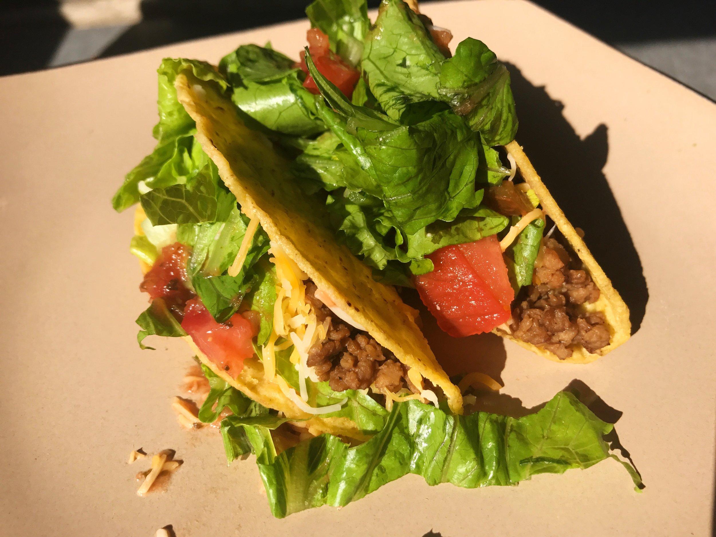 Meatless Crunchy Tacos