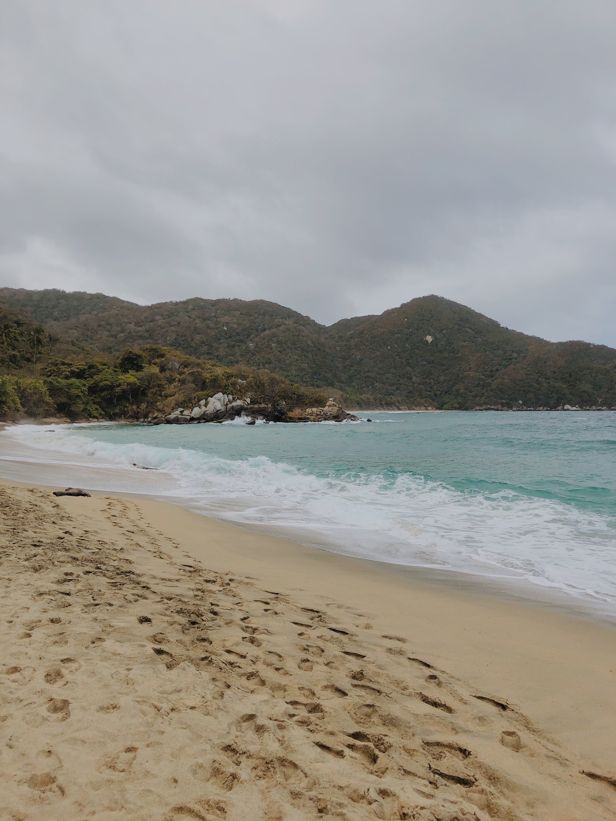 Nude Beach in Tayrona