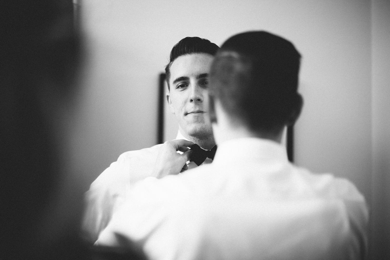 groom getting ready tampa wedding