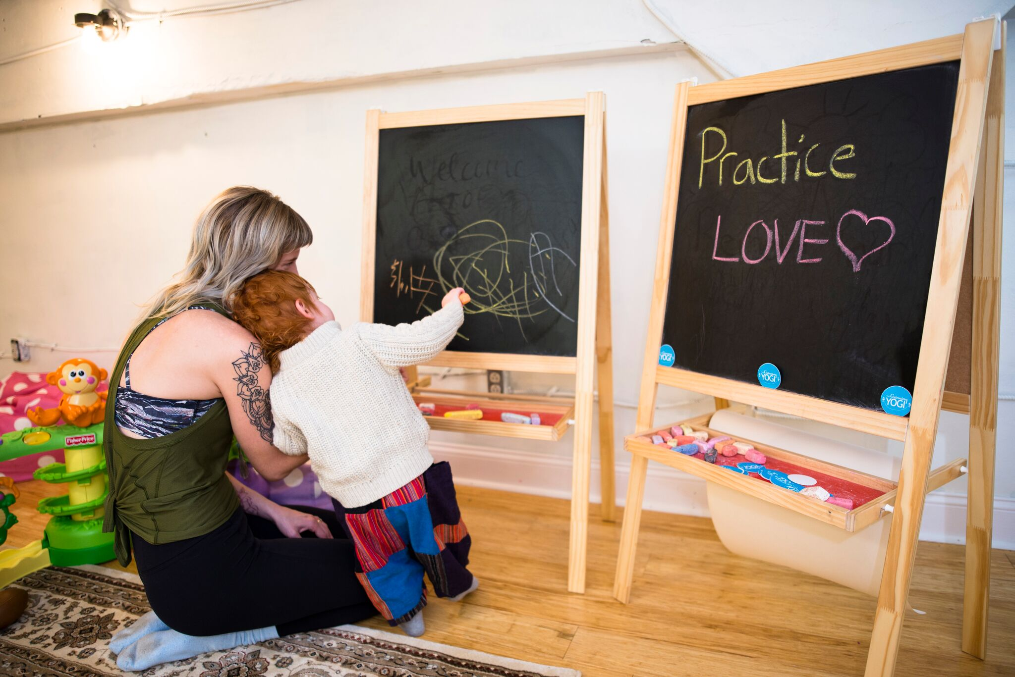 Childcare at Greeenwood Studio