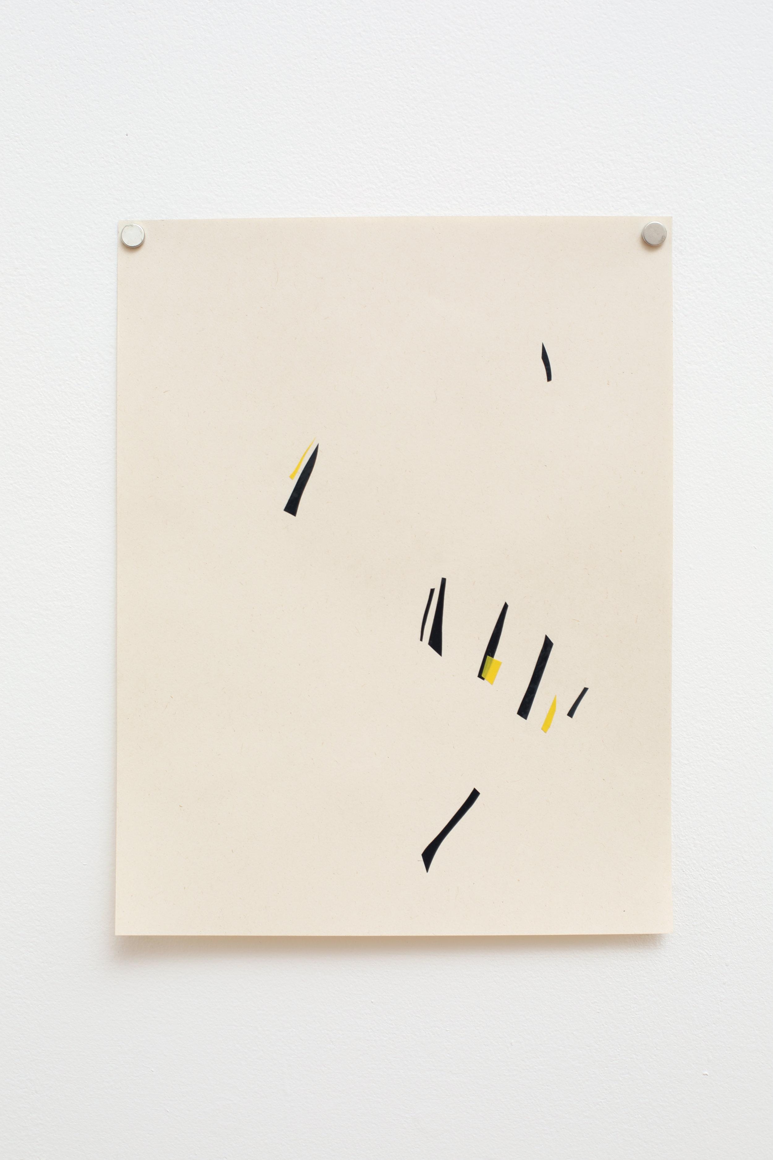 Manuela Garcia ,  Rhythm 8 , 2017, tape on paper