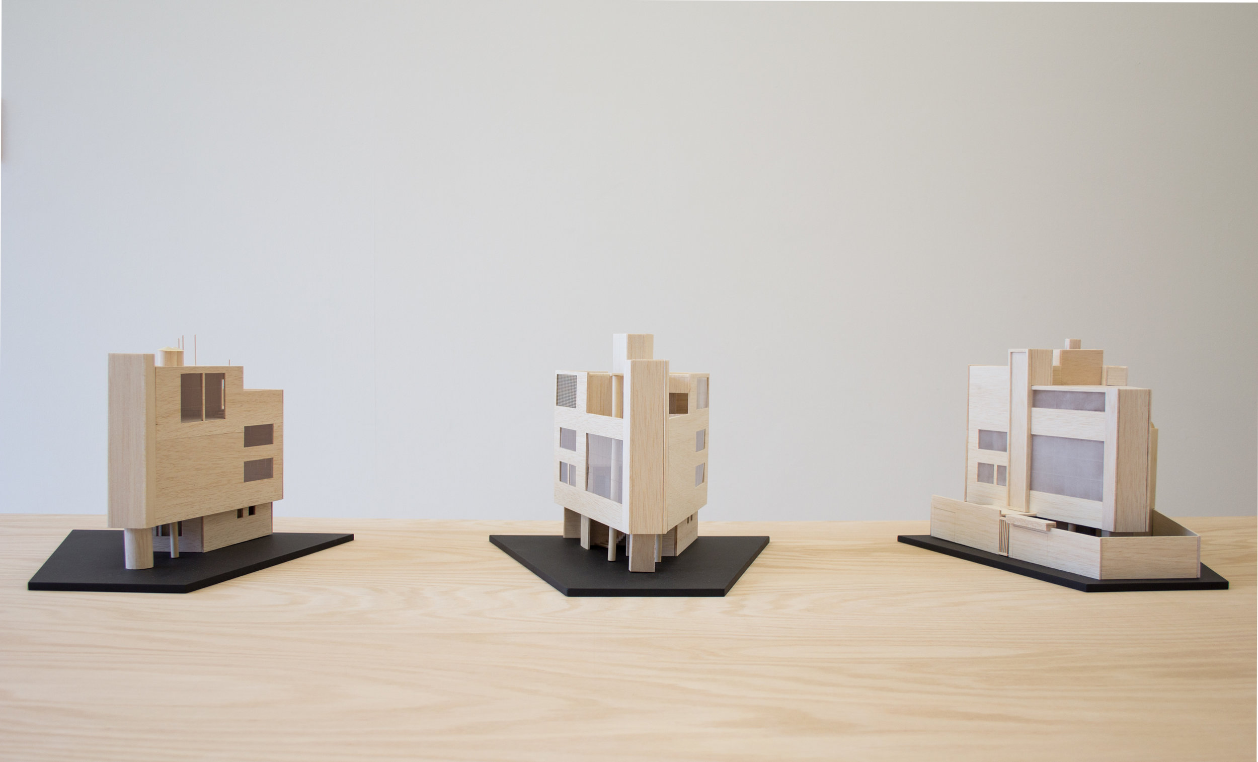 Degradation , 2017, Wood, acrylic paint, plexiglass, dimensions variable
