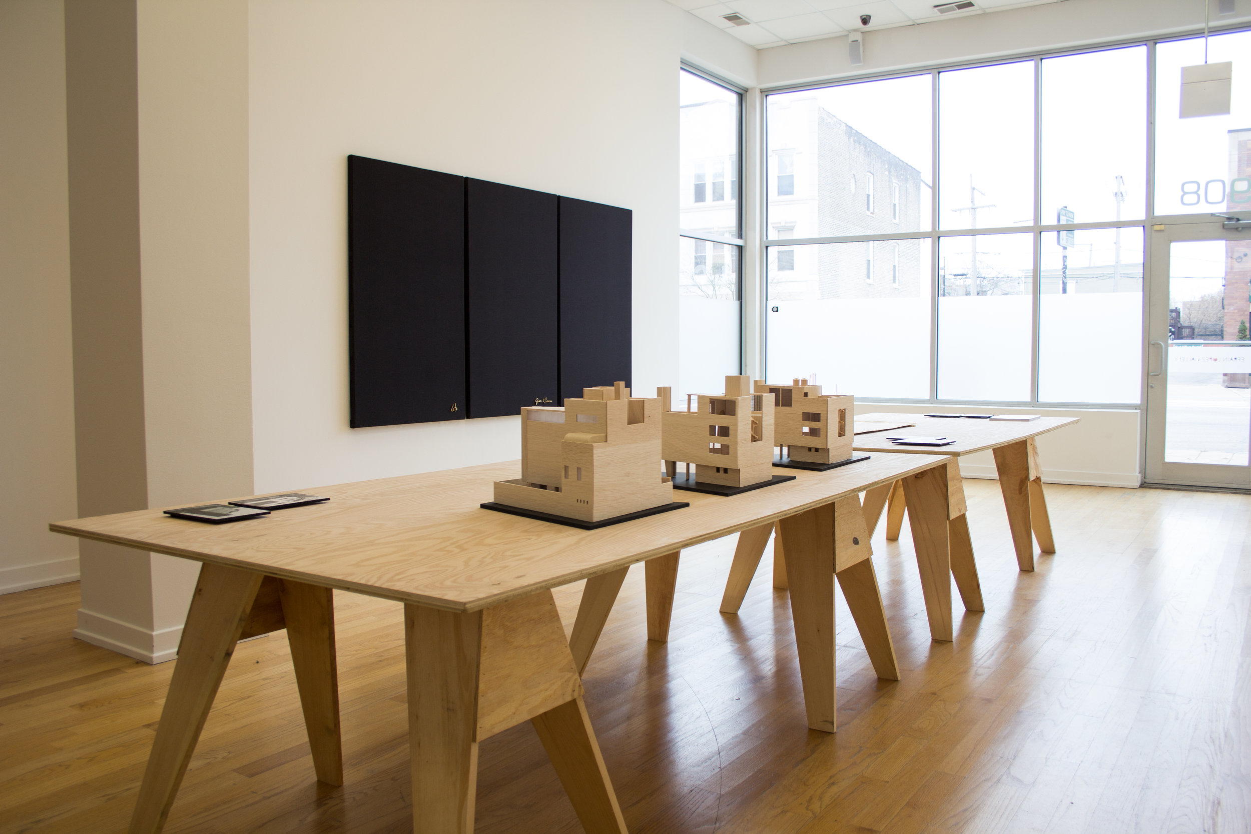 Exhibition view, This Modern House for Sale, 2017