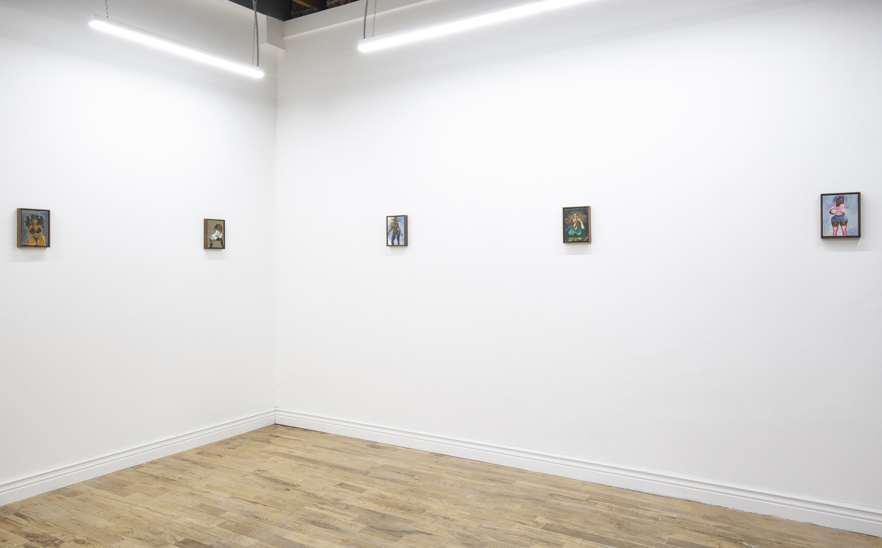 Installation view,  Time Never Mattered,  Efrain Lopez Projects, Chicago, 2018