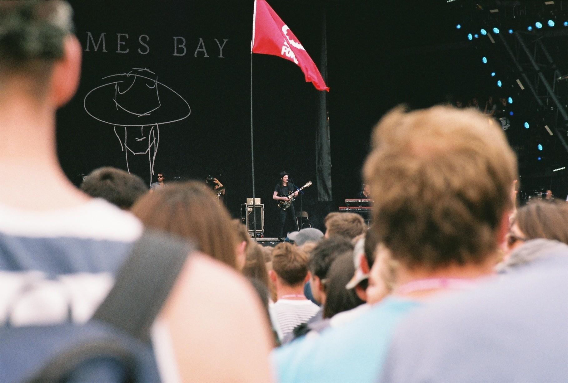 James Bay @ Glastonbury 2015