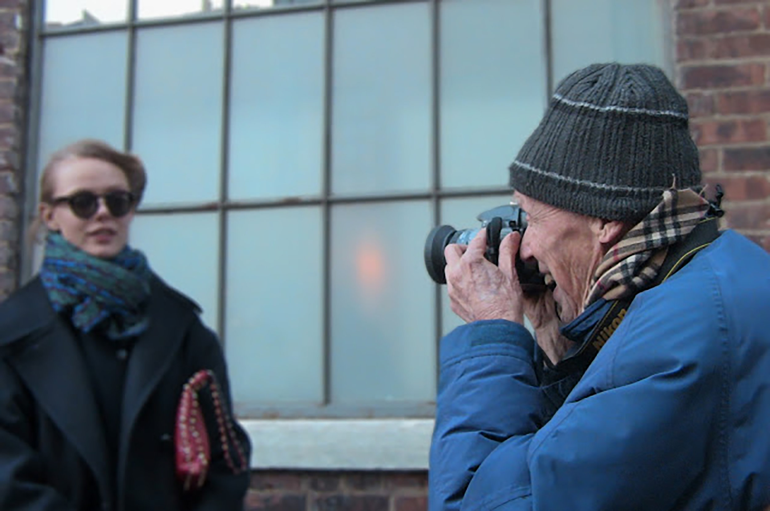 The first photograph I ever took that meant anything was of  Bill Cunningham  at NYFW.