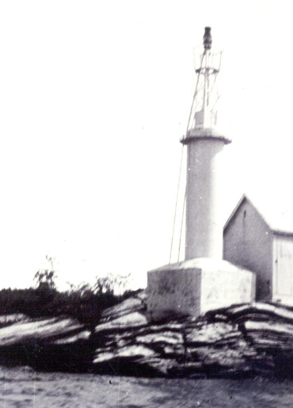 Killbear Light in 1938.