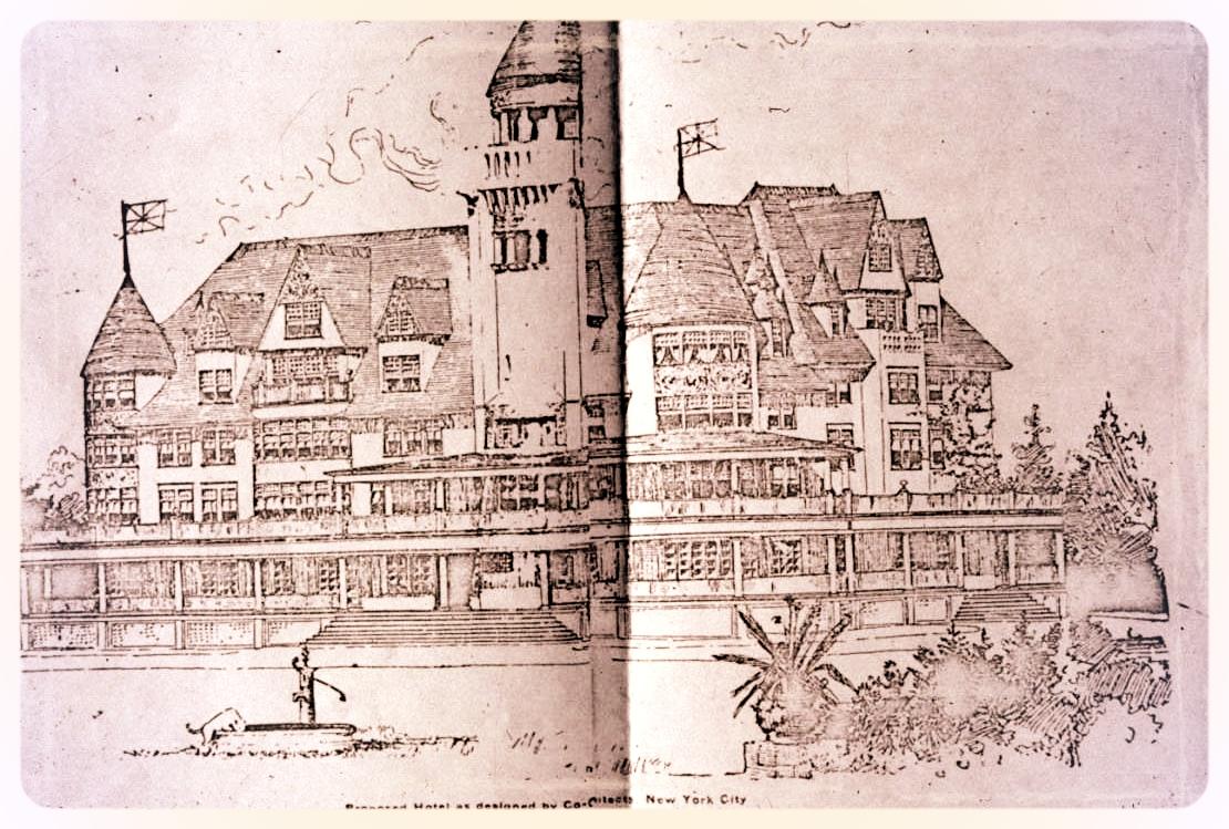 Lon Philip's proposed Georgian Bay Hotel.