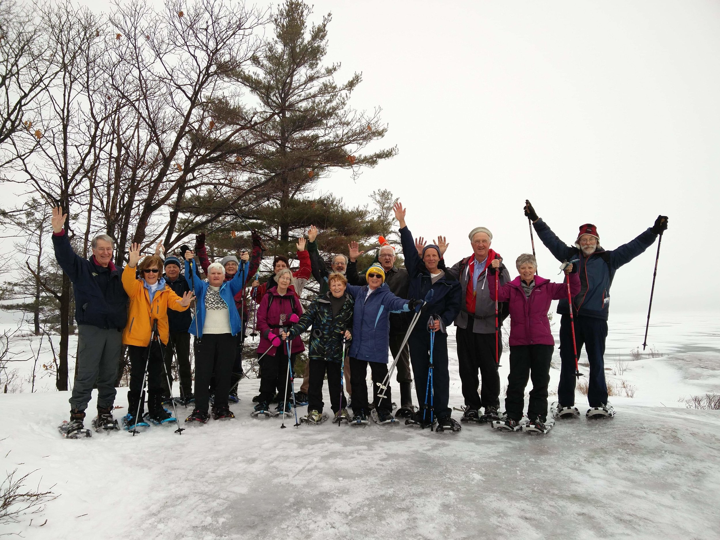 The Dufferin-Hi-Land Bruce Trail Club and the Midland Ganaraska Hiking Club have been enjoying Killbear's rugged and beautiful hiking trails for almost a decade.