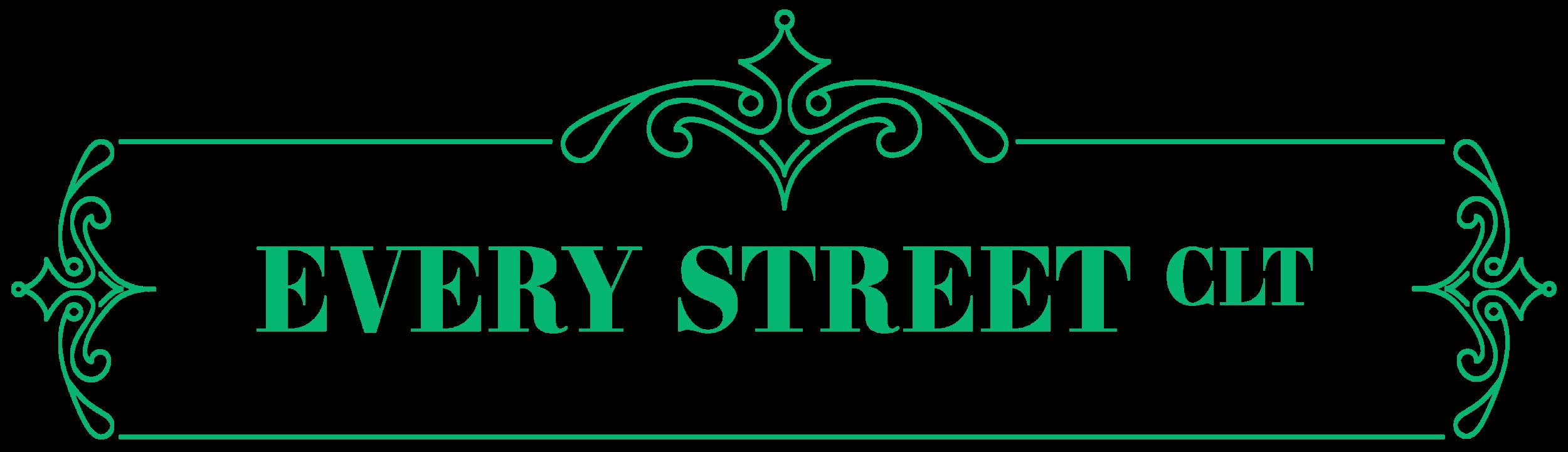 The final street sign logo.