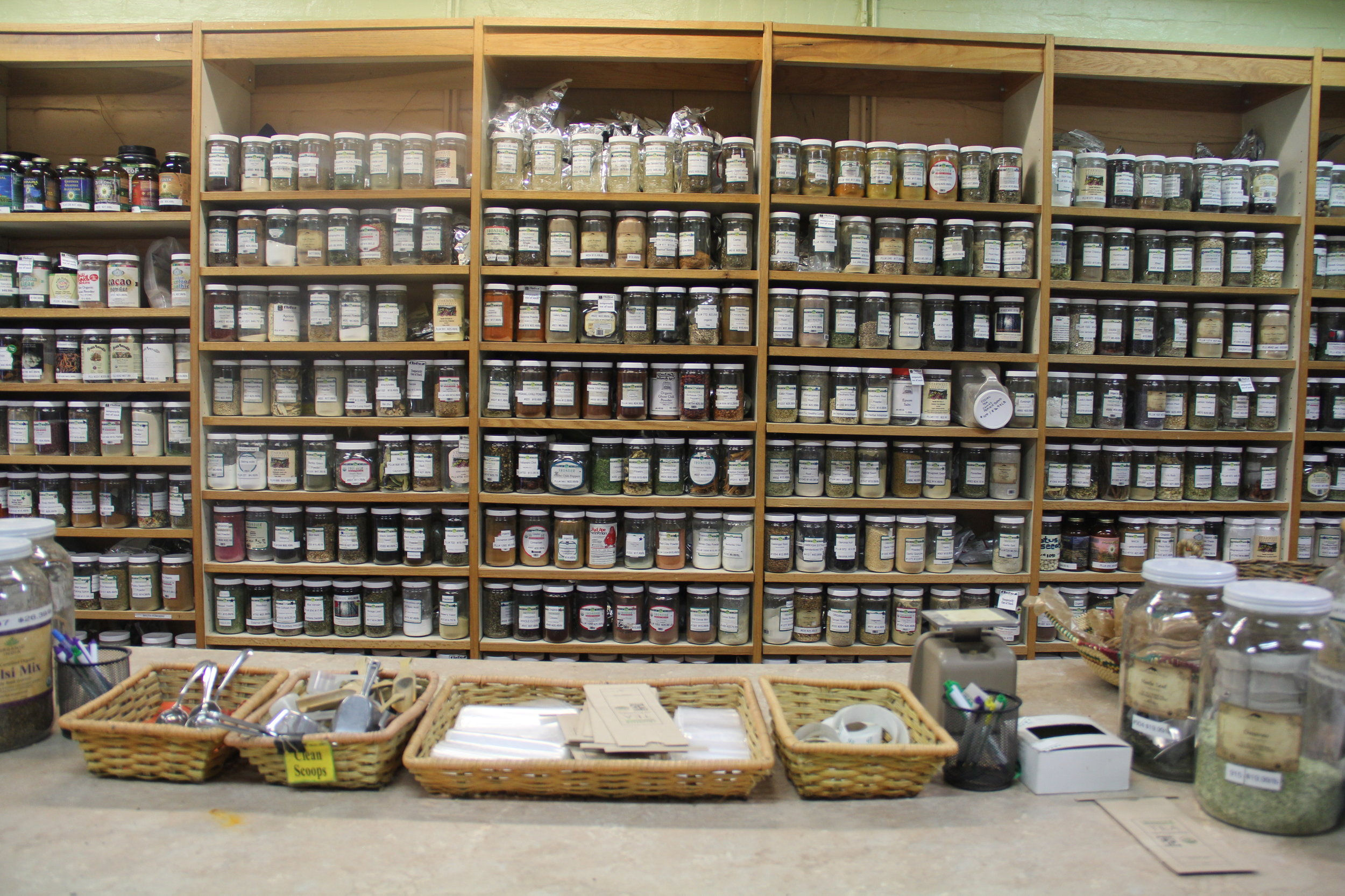 Look at all that glorious Bulk! This photo only shows one wall of their Bulk room and was taken from their website.
