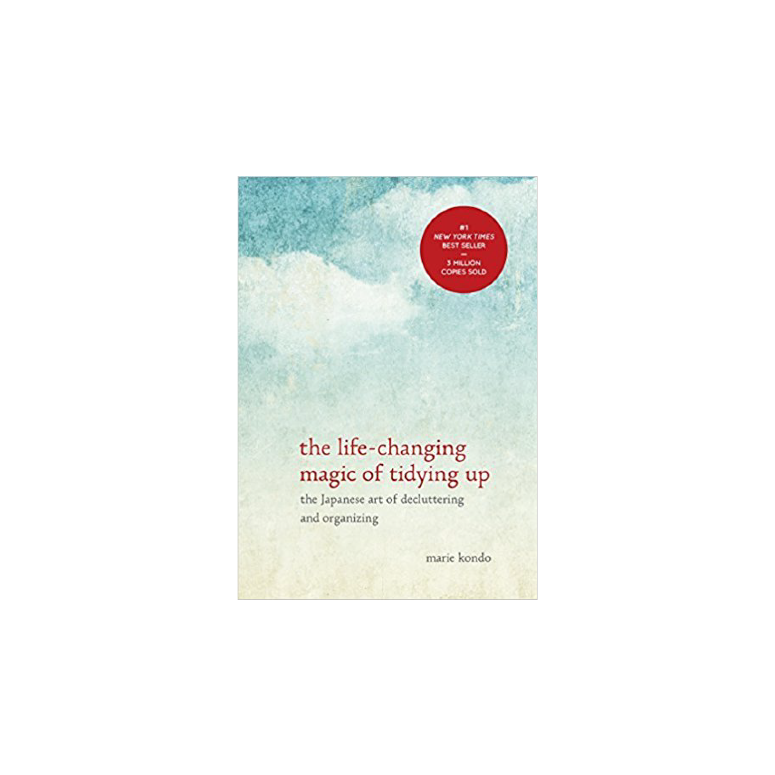 Want to declutter your home in one fell swoop? The KonMari method in this book is your new best friend!