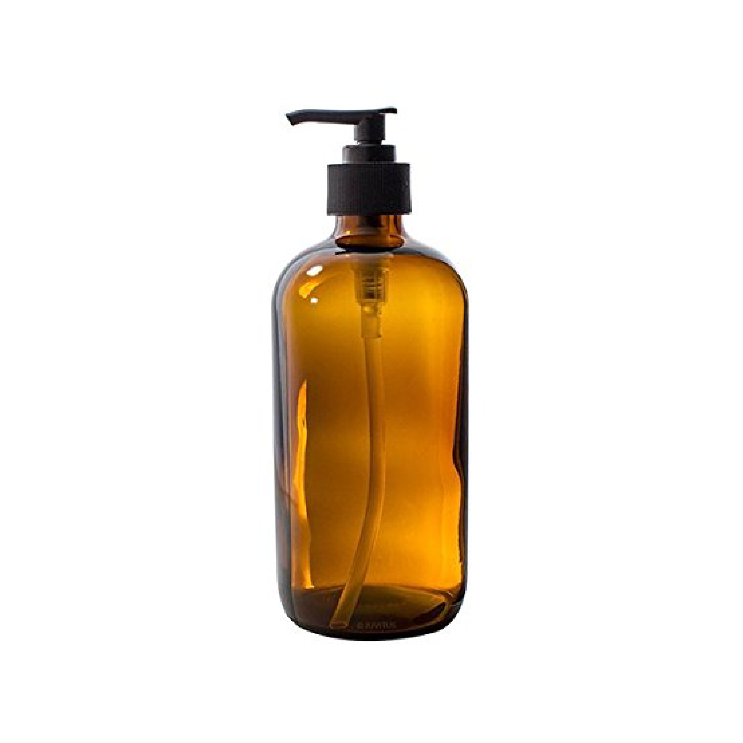 I use this Glass Pump Bottle at the kitchen sink for my Castile Soap + Water Mixture to wash my hands and hand-wash dishes.