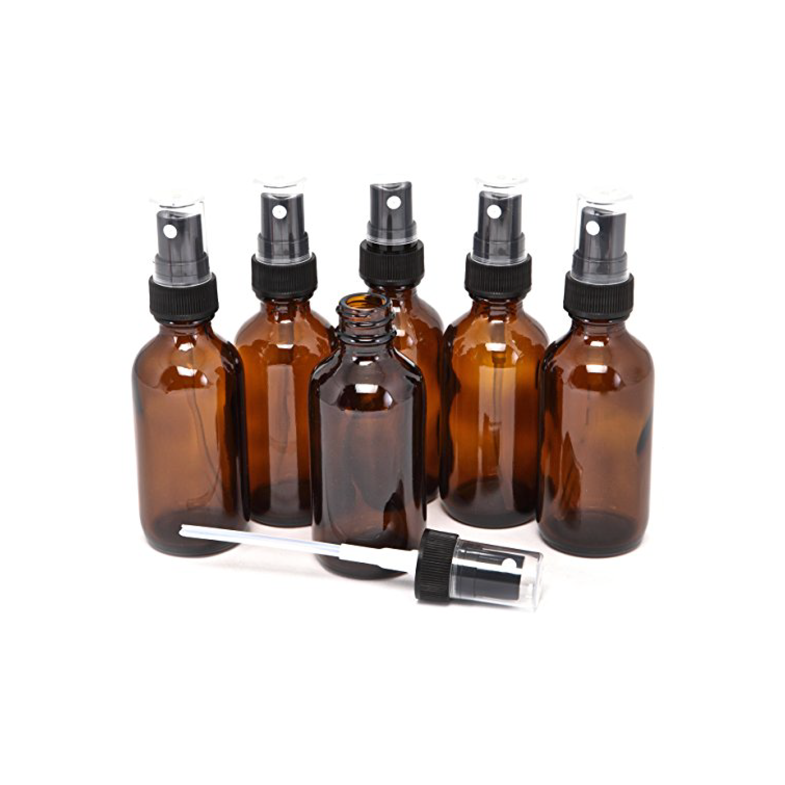 I use these small glass spray bottles for my homemade mosquito spray with tea tree oil but you could also use them for travel and other home things as well.