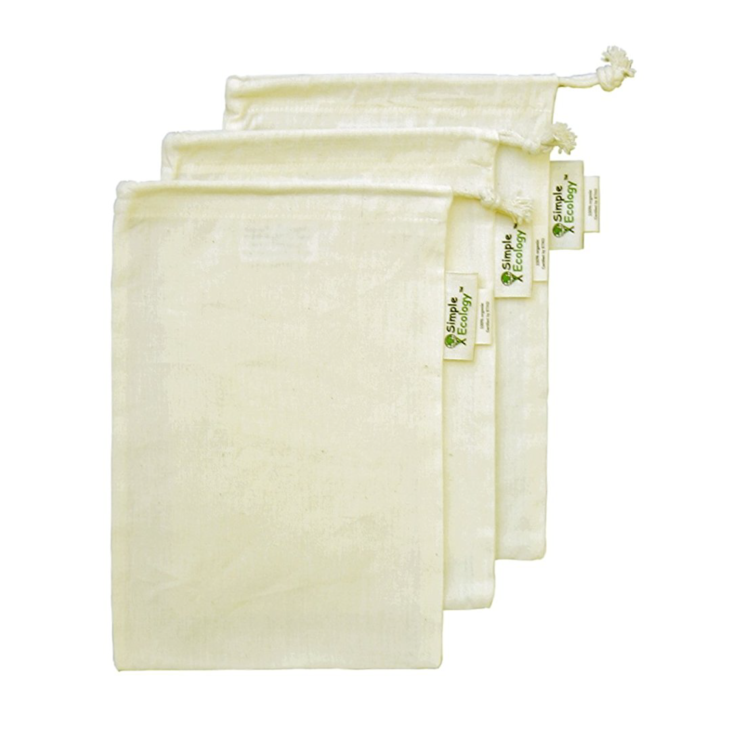 XS reusable cloth shopping bags - perfect for buying spices, grains and small loose produce!