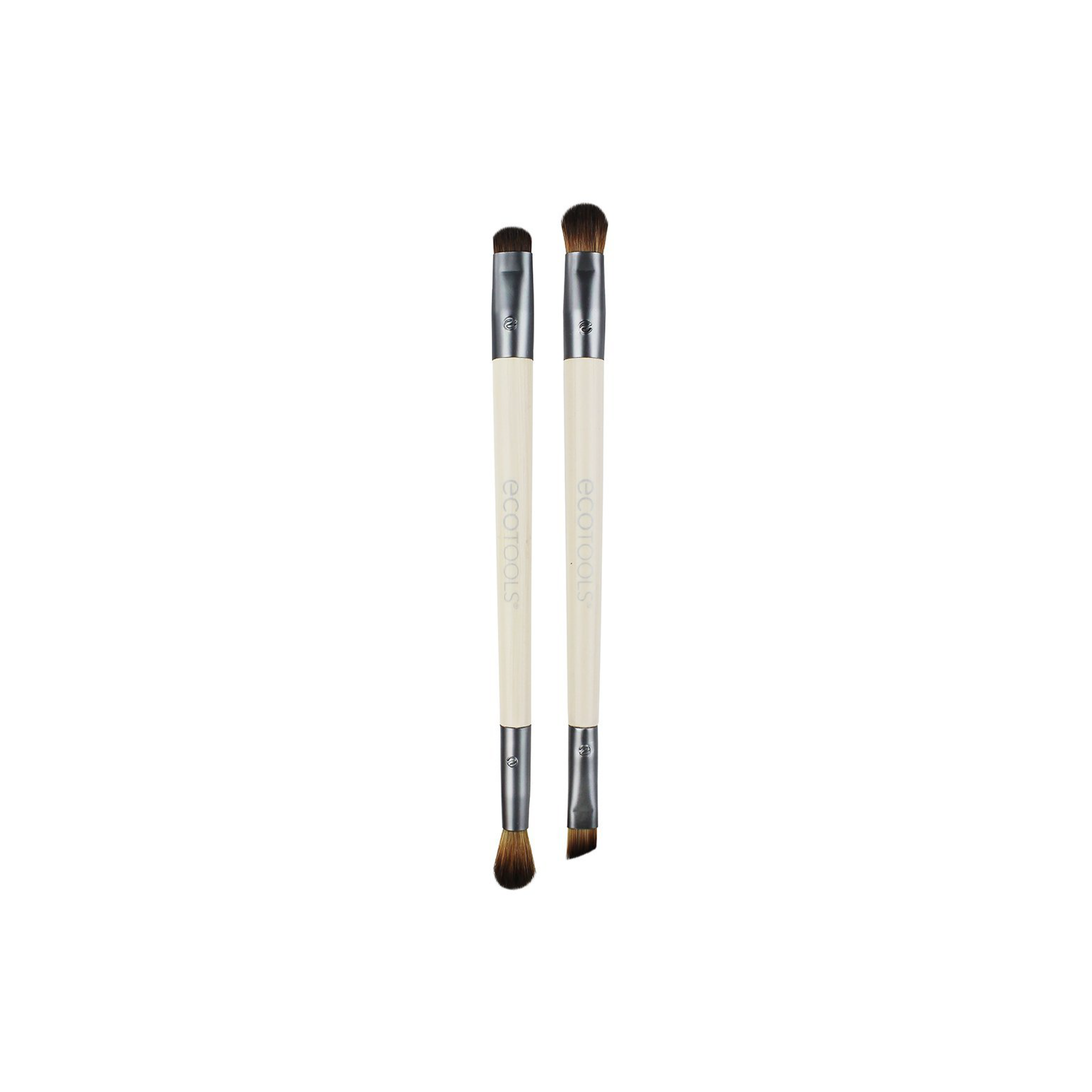 I use the angled brush in this set to apply my DIY activated charcoal eyeliner and fill in my eyebrows. So far, it's the best option I've found, and now that I own it - there's no need to buy another.