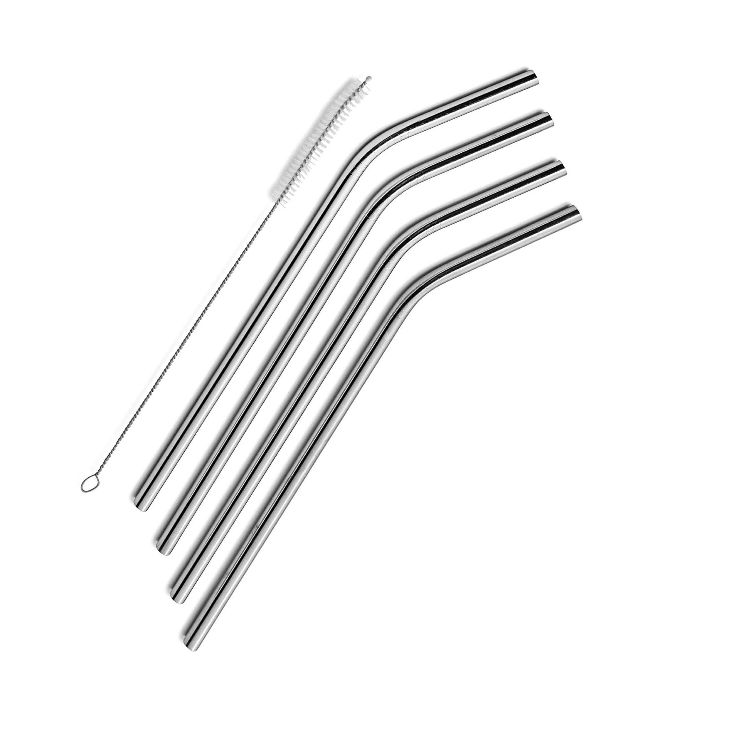 Reusable Stainless Steel Straws with free Straw Cleaner