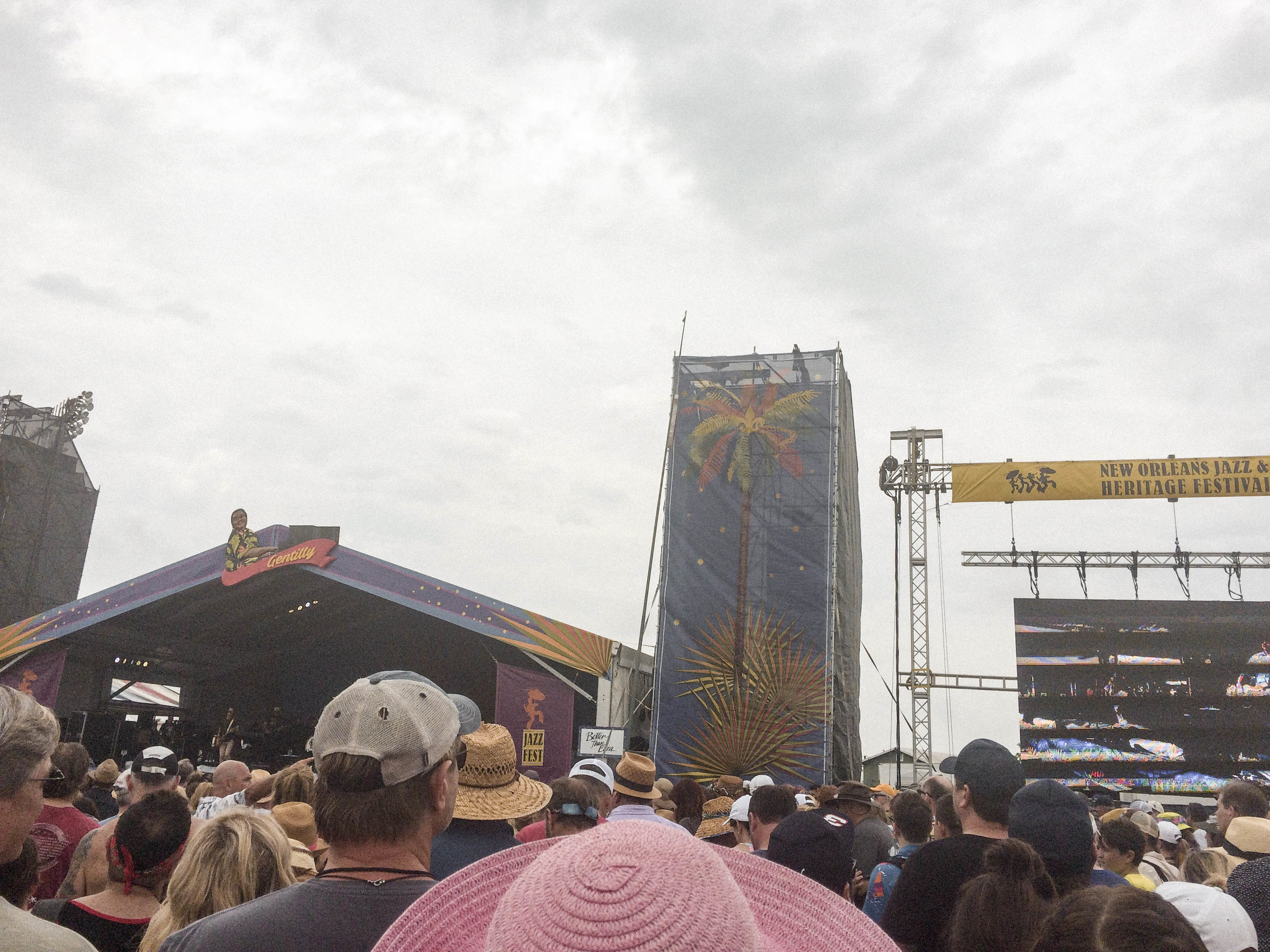 If you've ever held the belief that travel is expensive or solo travel is dangerous and scary - but have secretly wanted to do both - this post is for you!  My solo trip to New Orleans was the Abundant Result of flipping the script on those limiting beliefs! [Better Than Ezra at Jazz Fest in New Orleans]