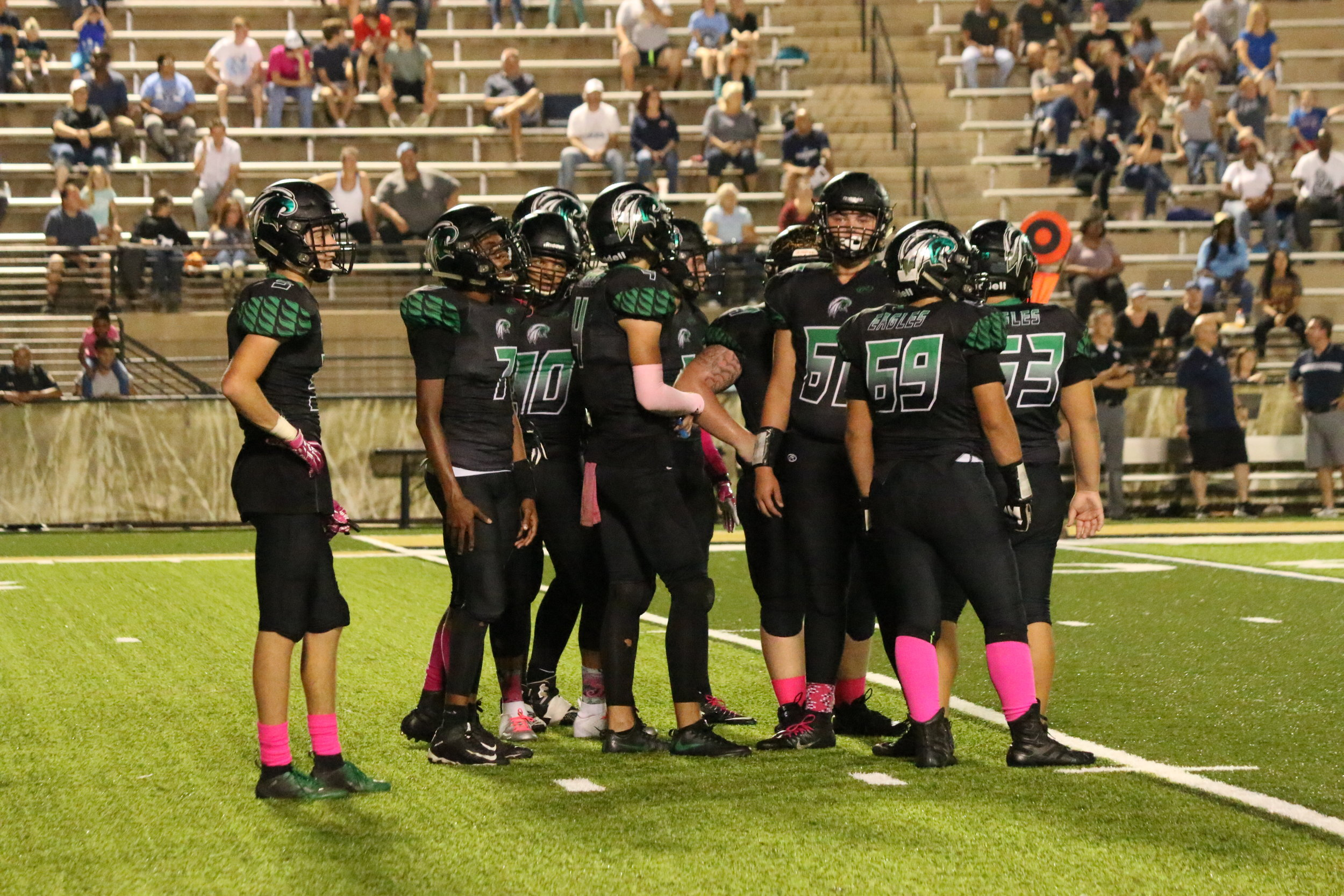 Pink out @ Lutheran V.S. St. Charles High