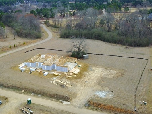 Birds eye view of Annandale Park's progress 🦅 nearly 6 acres located in Madison County