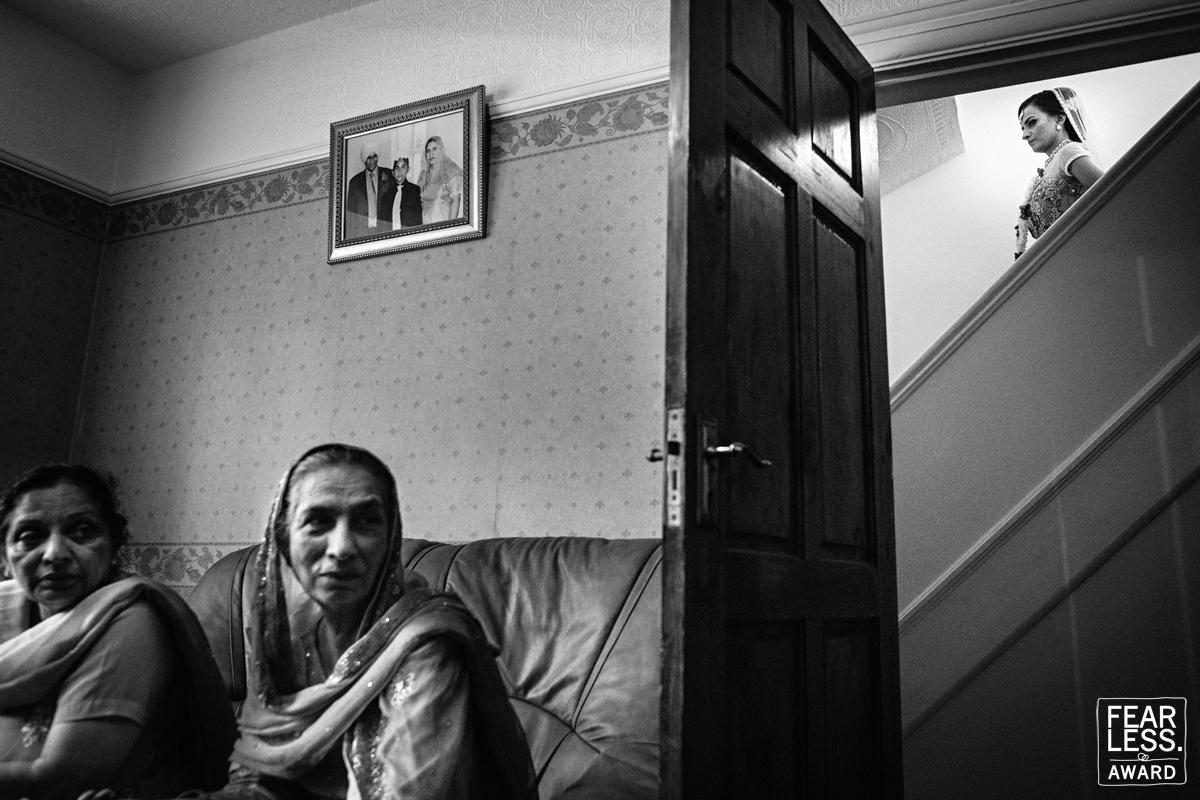 award winning documentary wedding photography - sikh wedding - fearless award