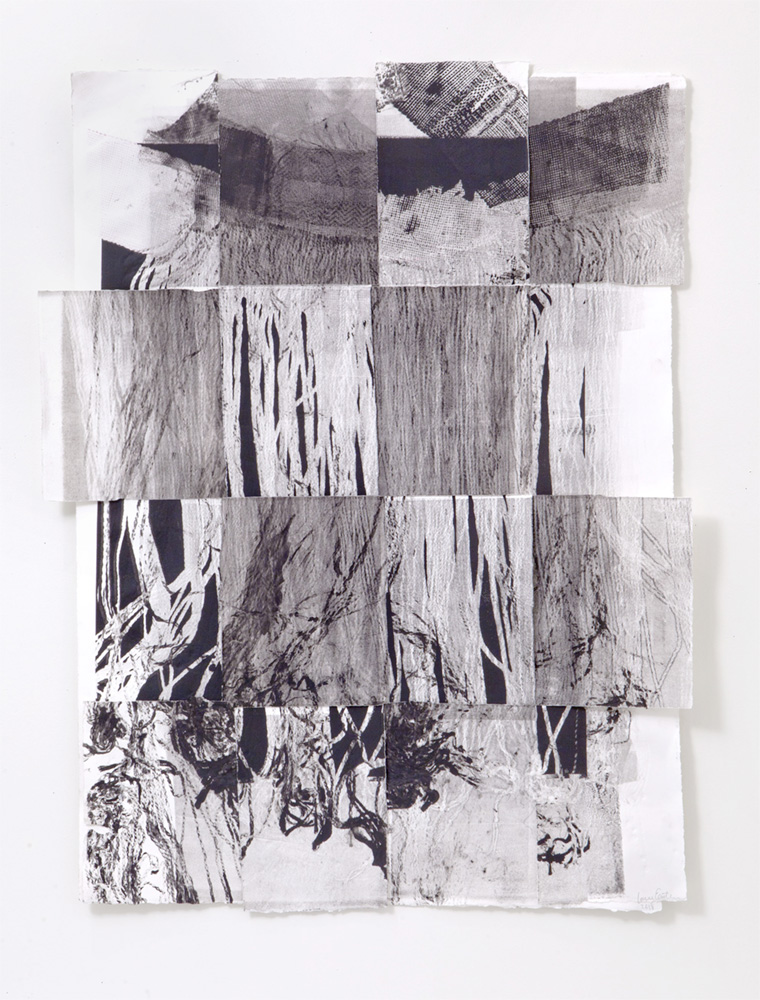 Untitled 2, Etching, 14 x 30 inches, 2018