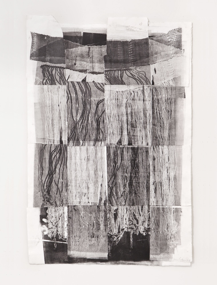 Untitled 4, Etching, 14 x 30 inches, 2018