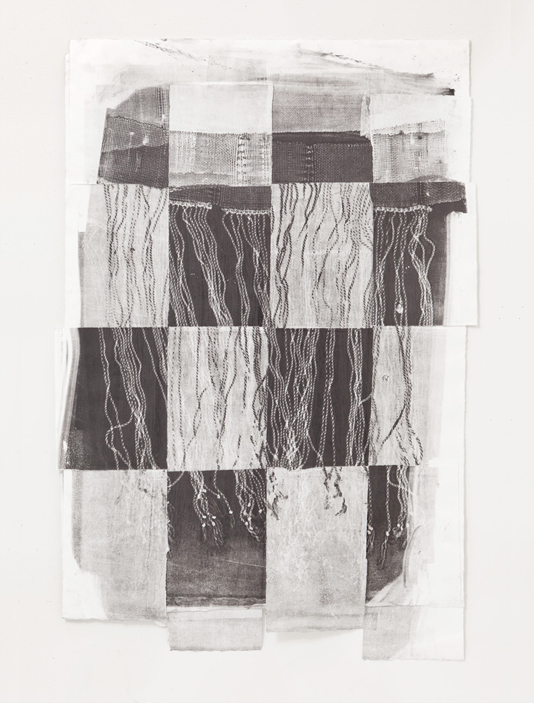 Untitled 6, Etching, 14 x 30 inches, 2018