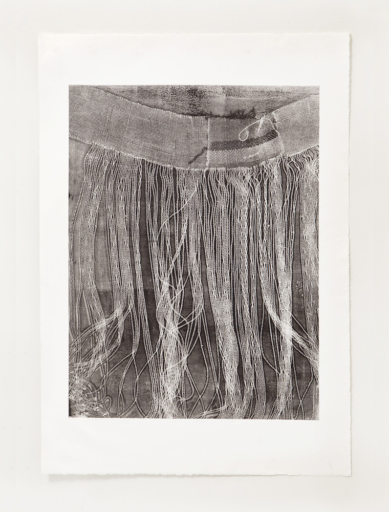 Untitled 8, Etching, 14 x 30 inches, 2018