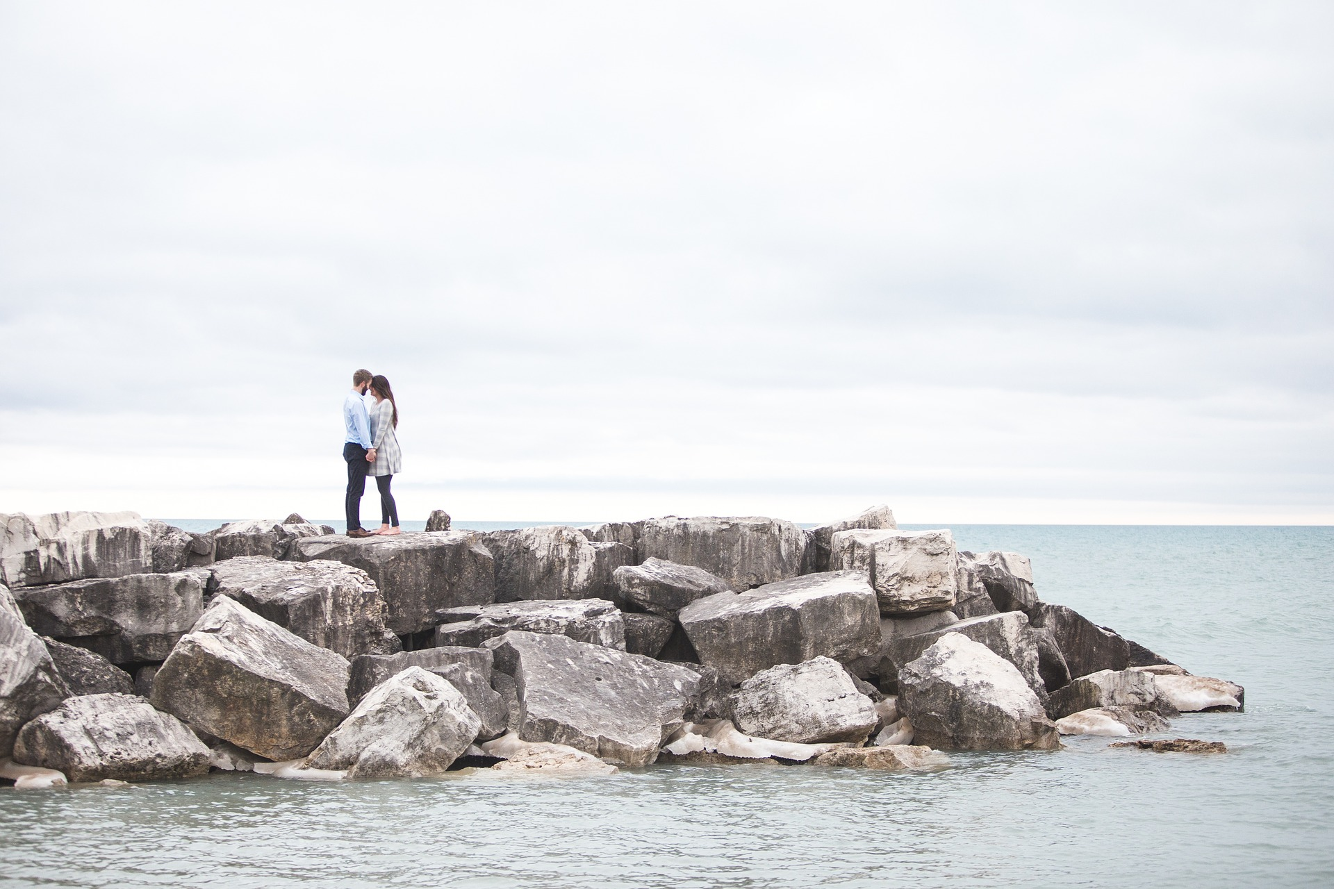 couple finding alone time