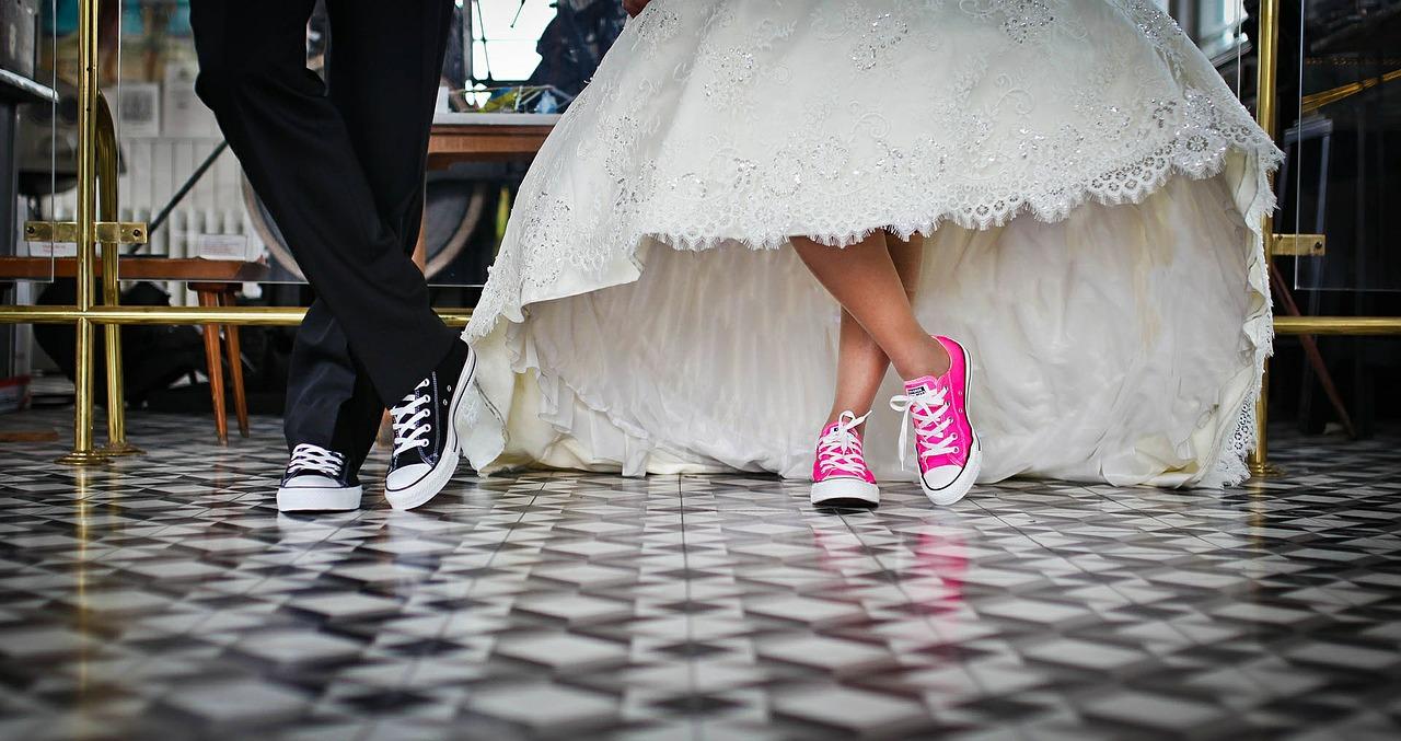 millennial married couple