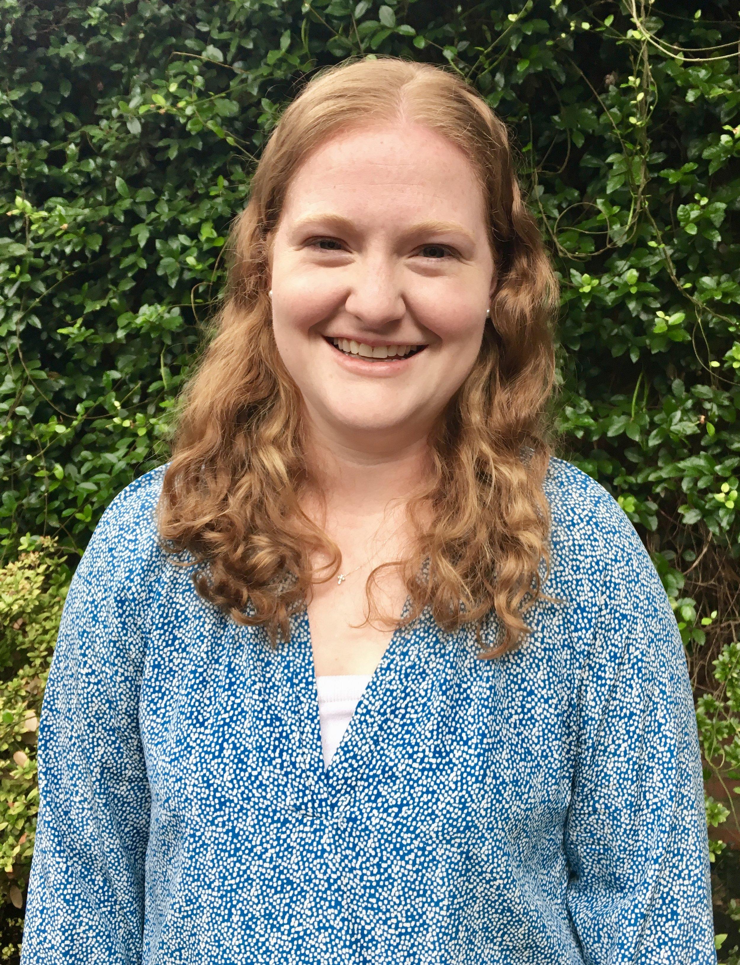 Sarah Gibson, Student Intern