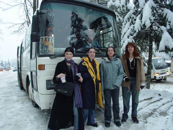 Eagle Base, Bosnia - December 25, 2003