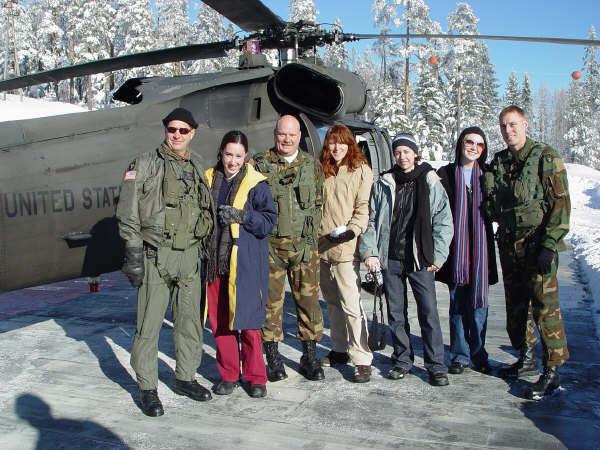 Hilltop Base, Bosnia - December 26, 2003